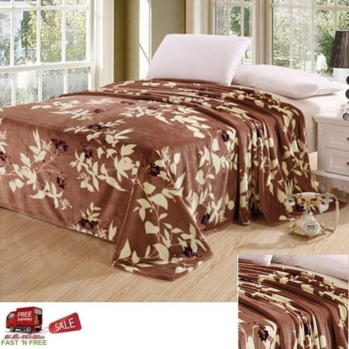 Bed-Blanket-Full-Queen-Throw-Soft-Plush-Fleece-Flannel-Cover-Bedroom-Brown-Maple-Jml-Modern-wallpaper-wp3403051