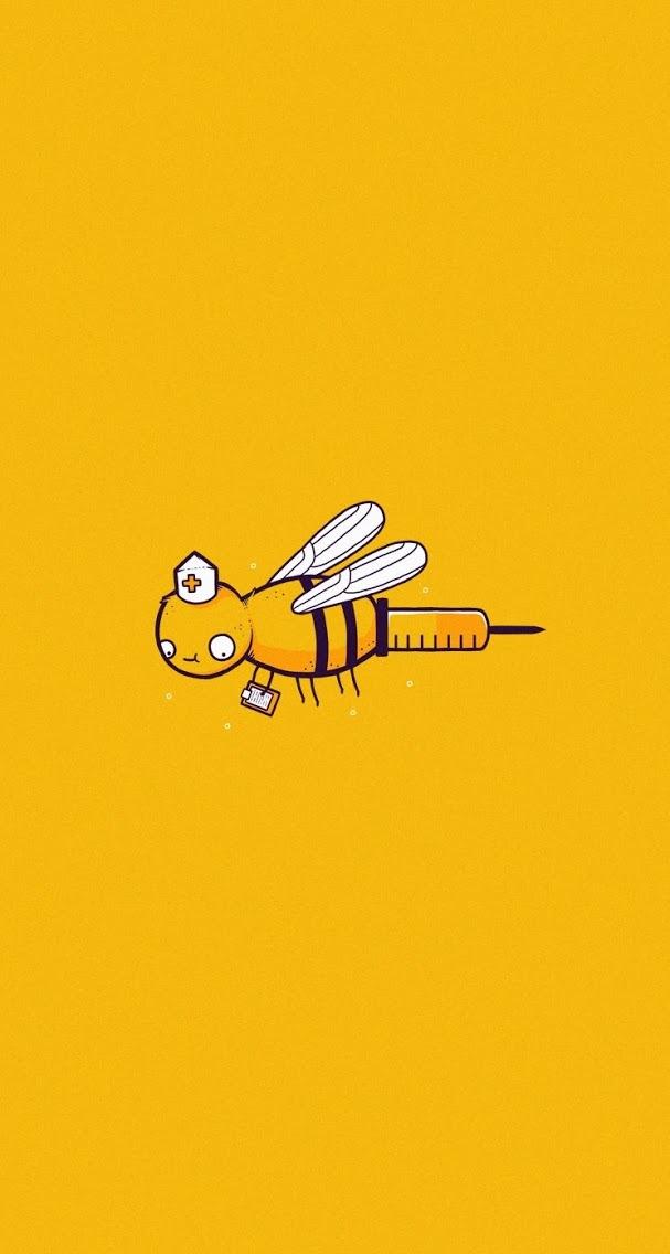 Bee-nurse-wallpaper-wp4405021
