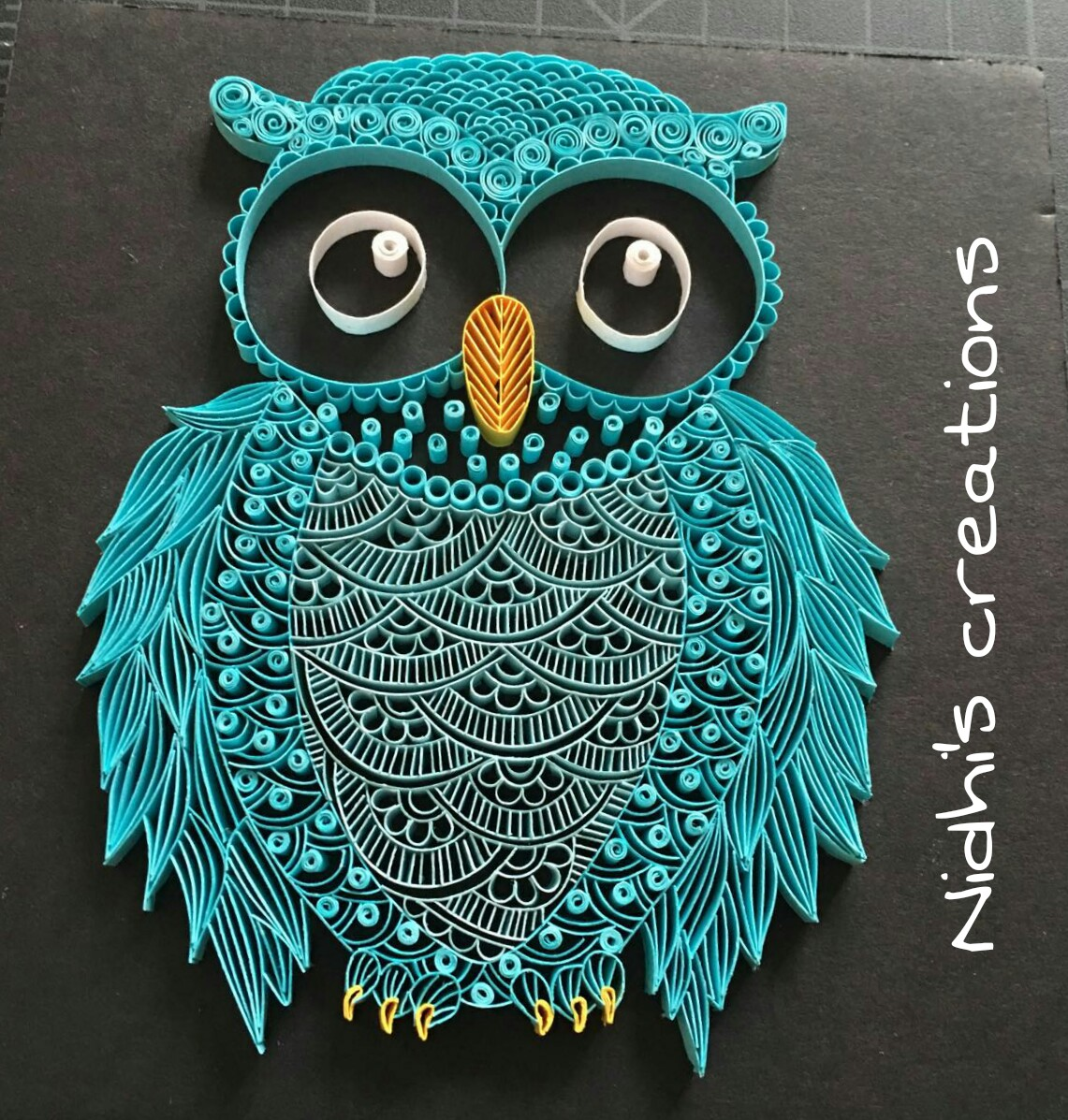 Being-Creative-in-the-world-of-Paper-Crafting-Quilled-Owl-wallpaper-wp5204543-1