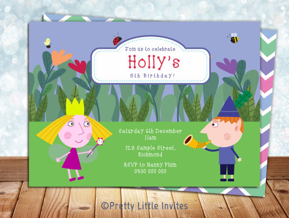 Ben-and-Holly-Invitation-Ben-Holly-Birthday-Invitation-Ben-and-Holly-Printable-Invitation-wallpaper-wp5204560