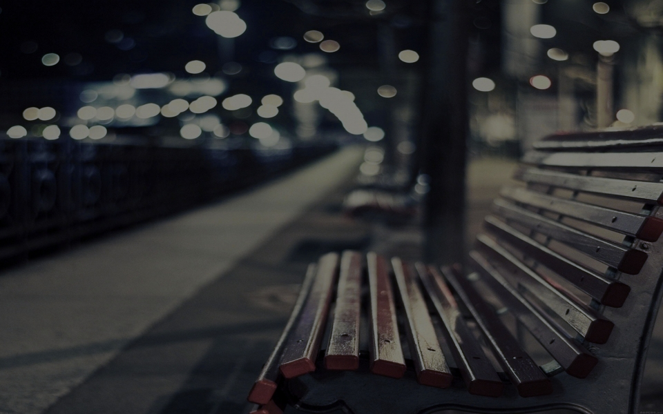 Bench-in-City-wallpaper-wp424037