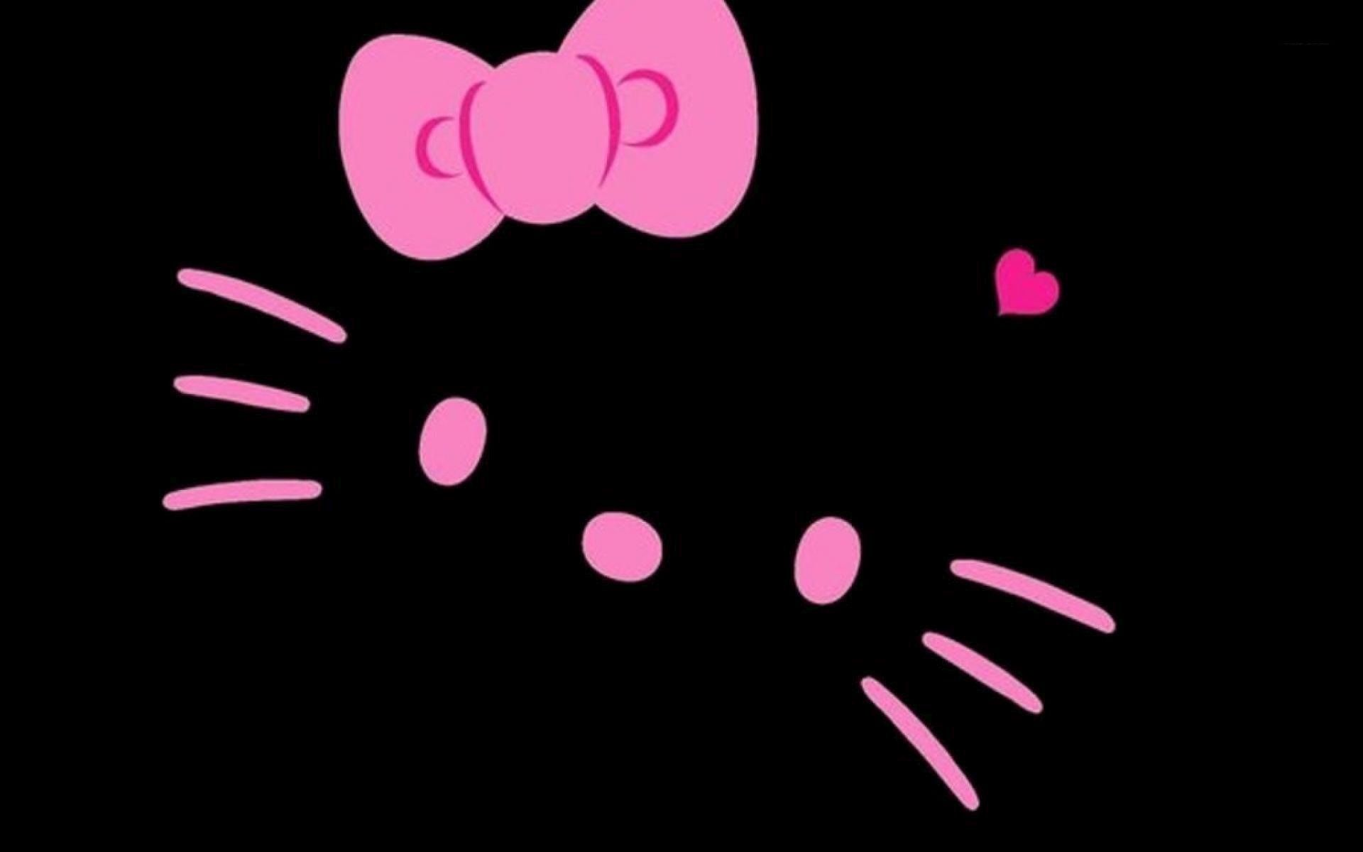 Black-And-Pink-Hello-Kitty-Cave-wallpaper-wp3403268