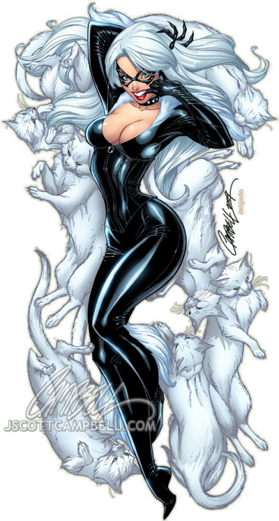 Black-Cat-by-J-Scott-Campbell-wallpaper-wp5005289