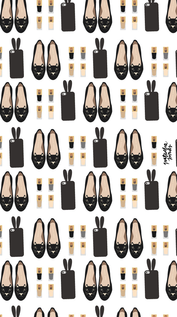Black-Designer-Chanel-iPhone-Home-PanPins-wallpaper-wp4405136