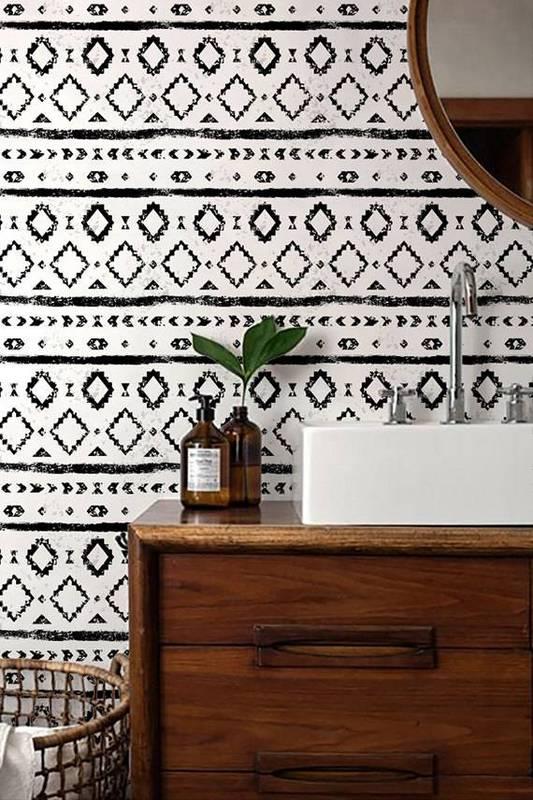 Black-and-white-bathroom-wallpaper-wp5804065