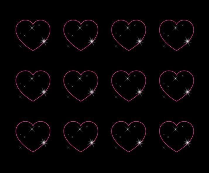 Black-background-pink-hearts-wallpaper-wp4604272