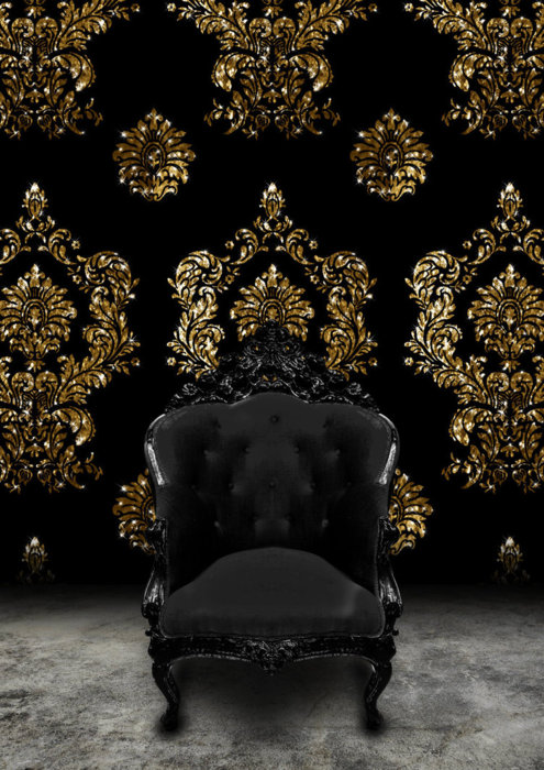 Black-velvet-and-gold-damask-Rococo-Loco-Nero-wallpaper-wp424146-1