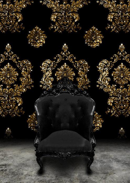 Black-velvet-and-gold-damask-Rococo-Loco-Nero-wallpaper-wp424146