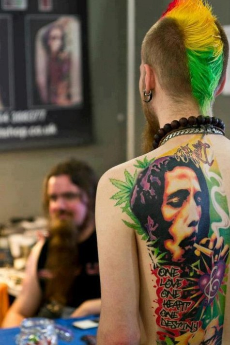 Bob-Marley-tattoo-and-Rasta-inspired-hair-paint-wallpaper-wp424187