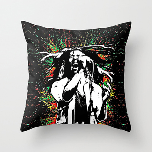 Bob-marley-abstract-painting-Decorative-cushion-Pillow-Case-wallpaper-wp5603510