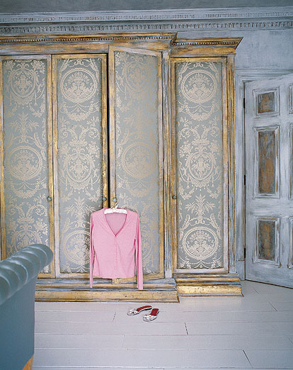 Bohemian-style-aged-distressed-armoire-wardrobe-with-Victorian-antique-style-silk-fabric-I-love-th-wallpaper-wp424191