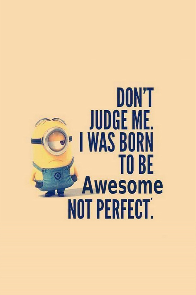 Born-To-Be-awesome-Humour-Minions-wallpaper-wp5204784