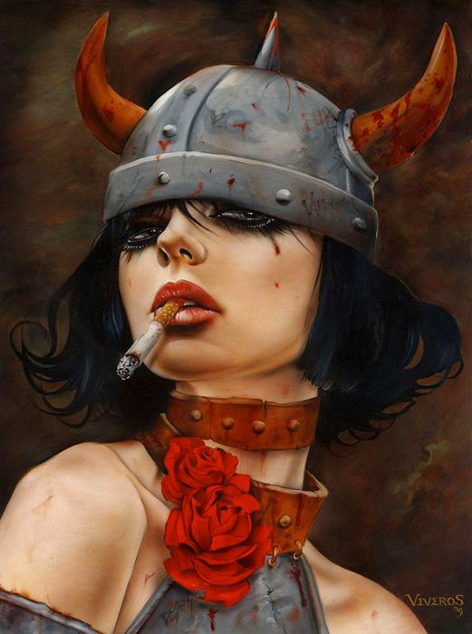 Brian-Viveros-a-mix-of-oil-airbrush-acrylic-and-ink-wallpaper-wp3003902