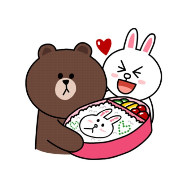 Brown-Cony-Lunch-Bento-wallpaper-wp3003922