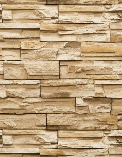 Brown-and-Off-White-Faux-Stone-Textured-wallpaper-wp5804229