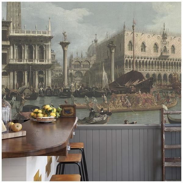 Bucentaurs-Return-to-the-Pier-Mural-wallpaper-wp5005531