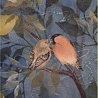 Bullfinches-Stencil-wallpaper-wp5204906