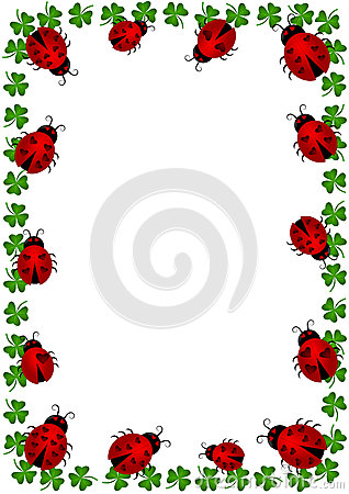 C-Celia-Ascenso-Frame-border-with-ladybugs-and-clovers-Vector-or-png-available-wallpaper-wp3002535