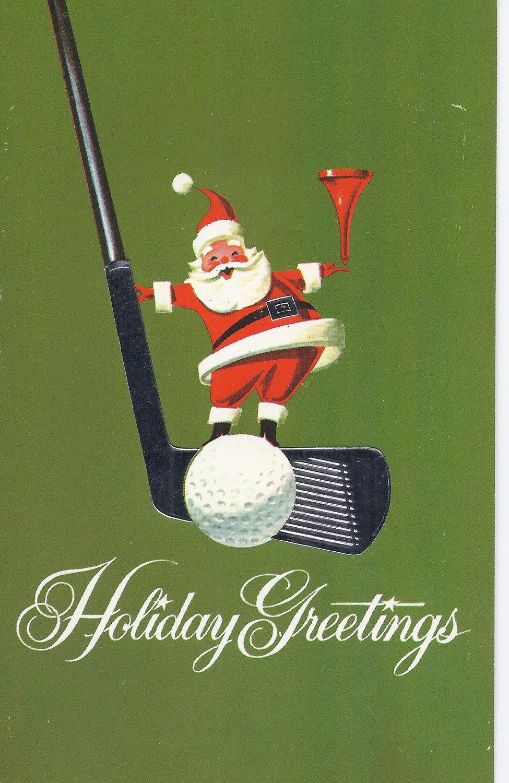 C-Vintage-Greeting-Card-Christmas-Santa-with-golf-club-via-Etsy-wallpaper-wp424333