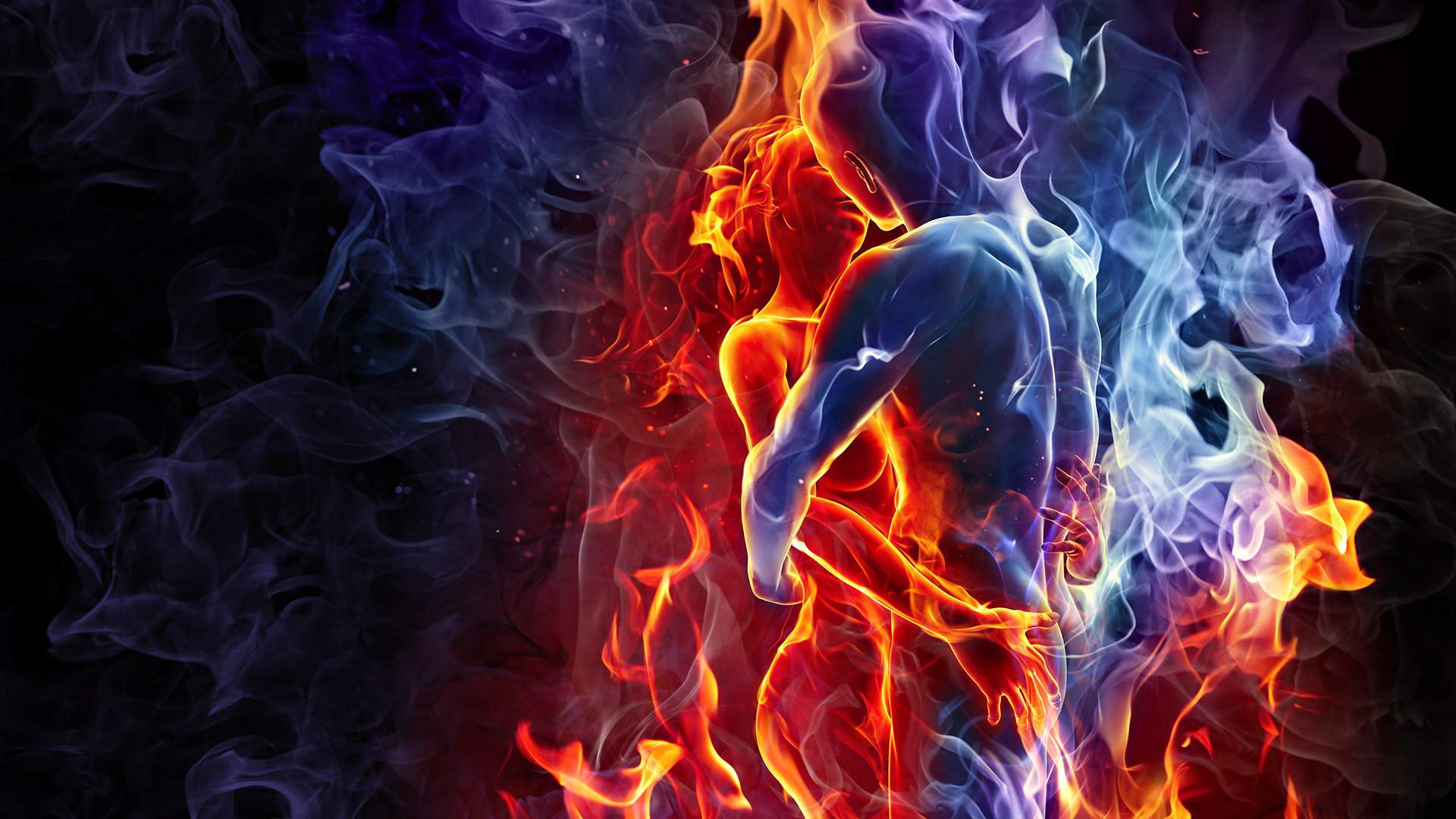 CGI-Fire-By-Mehmetyenice-wallpaper-wp3403818