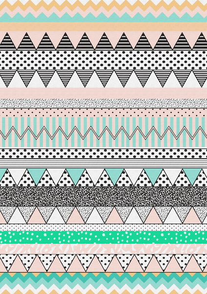 CHEVRON-MOTIF-Art-Print-by-Vasare-Nar-Society-wallpaper-wp4405709