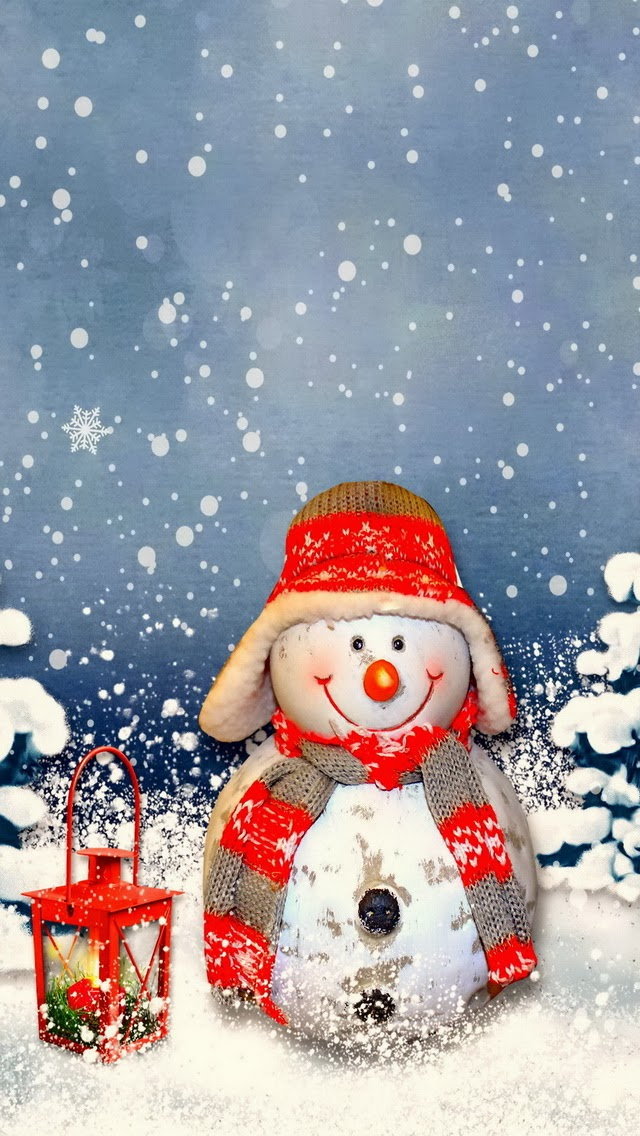 CHRISTMAS-SNOWMAN-IPHONE-BACKGROUND-wallpaper-wp4604759