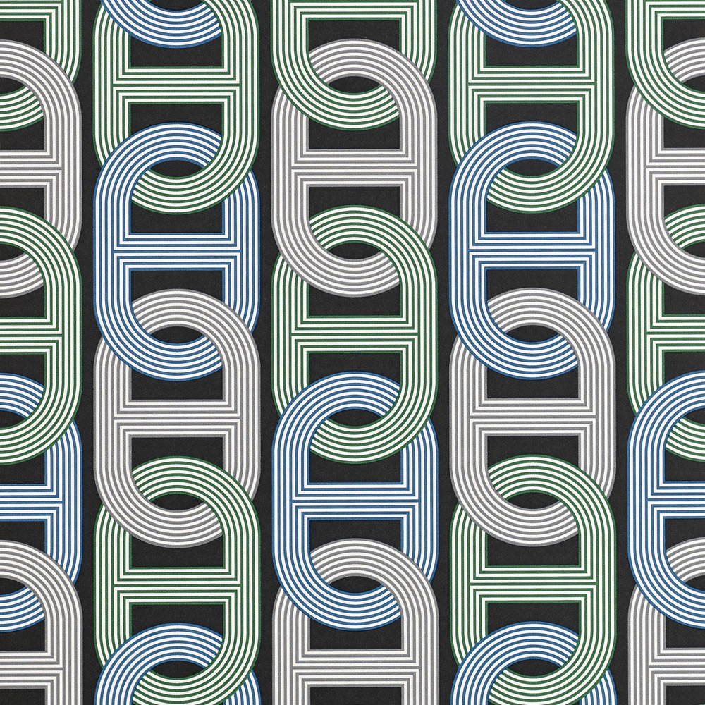 CIRCUIT-Chain-link-pattern-Hermes-Paris-Fashion-Brand-Design-Fabric-Pattern-wallpaper-wp5404116