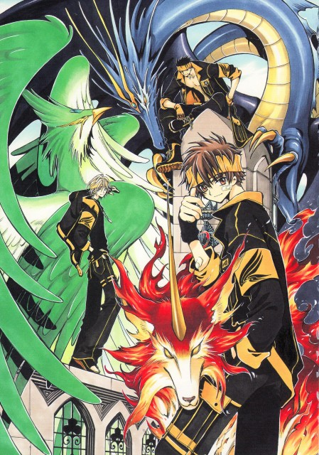 CLAMP-Bee-Train-Tsubasa-Reservoir-Chronicle-Album-De-Reproductions-Syaoran-Li-wallpaper-wp5404142