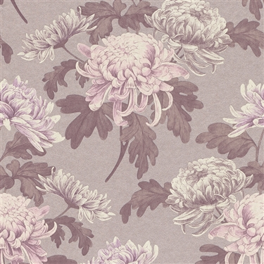 Calming-natural-vintage-florals-in-pink-tones-creating-depth-and-character-Lilac-Vintage-Blossoms-wallpaper-wp5403942