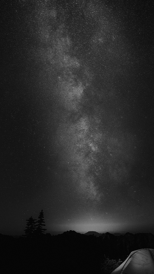 Camping-Night-Star-Galaxy-Milky-Sky-Dark-Space-Bw-iPhone-s-wallpaper-wp424352-1