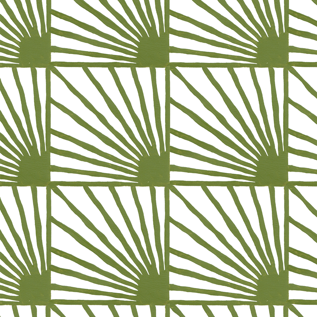 Catch-Some-Rays-in-Moss-green-Hand-painted-by-Sarah-Ruby-www-sarahrubydesign-com-wallpaper-wp5205050
