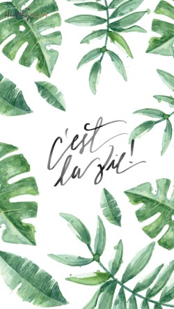 Cest-la-vie-leaves-Iphone-wallpaper-wp4604521