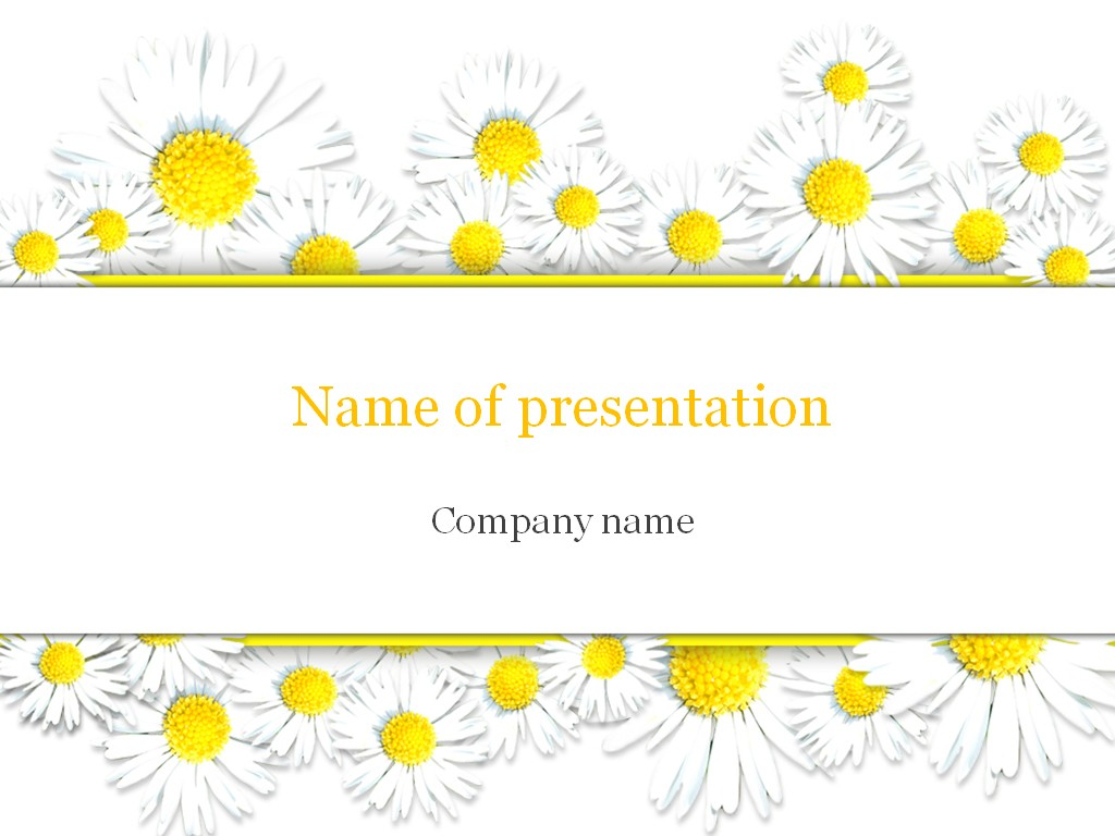 Chamomile-PowerPoint-Template-wallpaper-wp4805194