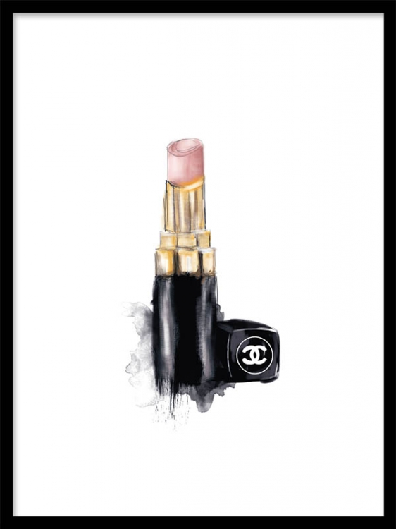 Chanel-lipstick-make-up-poster-Matches-perfectly-with-the-poster-Nail-polish-at-desenio-se-wallpaper-wp5005854