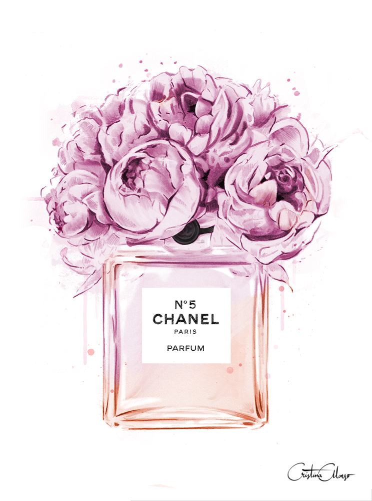 Chanel-perfume-illustration-with-peonies-Print-out-and-place-in-frame-for-decor-wallpaper-wp5005859