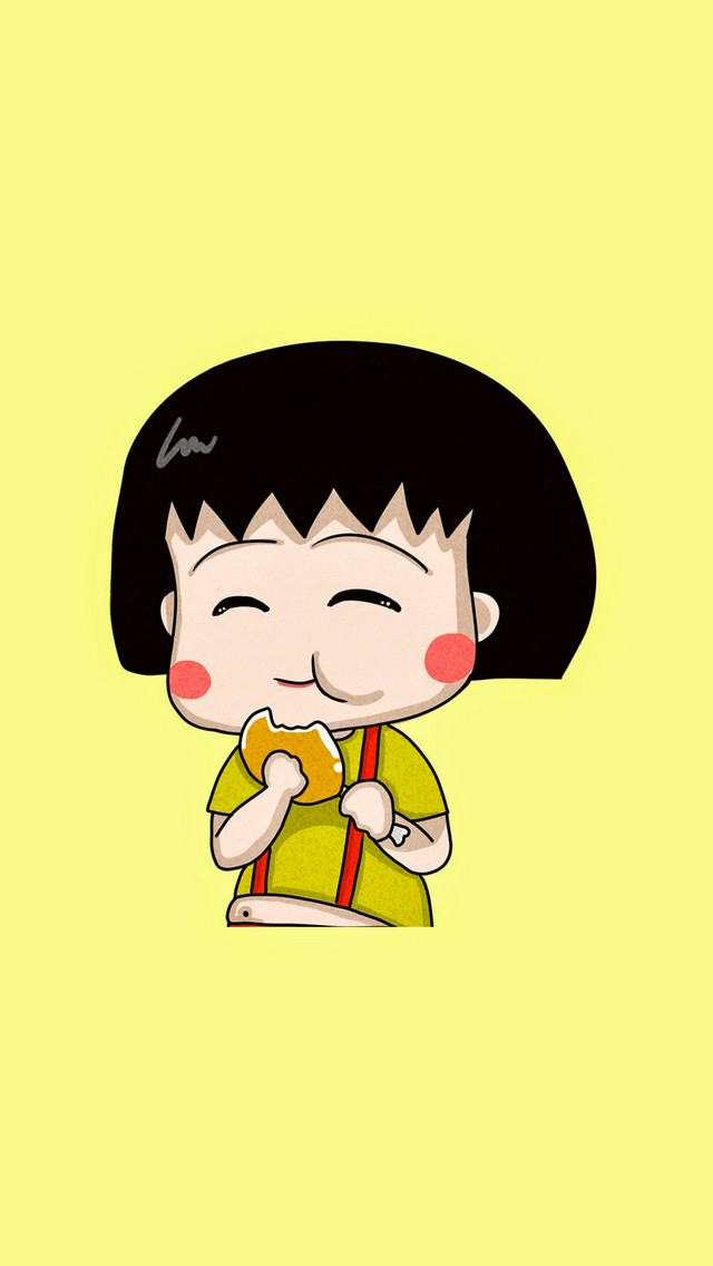 Chibi-Maruko-Chan-Check-out-these-Chibi-Cartoon-Anime-Cute-and-funny-iPhone-wallpa-wallpaper-wp424491-1
