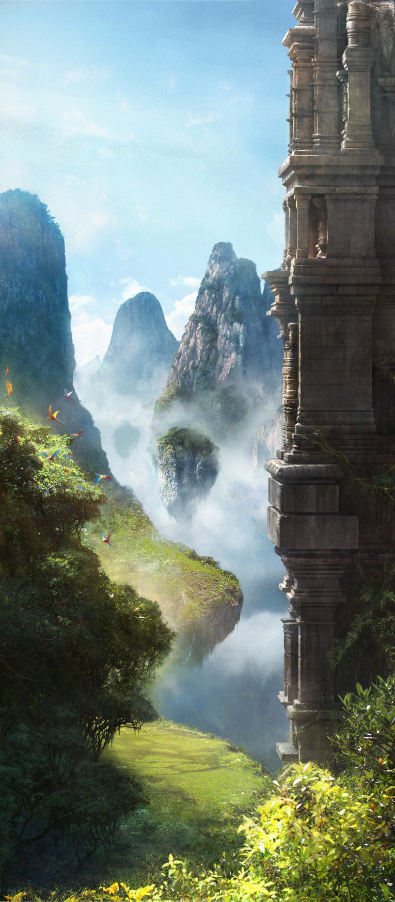 China-mysterious-mist-laden-mountains-wallpaper-wp424513-1