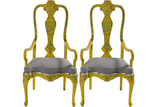 Chinoiserie-Armchairs-Pair-grey-and-yellow-Im-blowing-air-kisses-at-this-picture-wallpaper-wp5006017