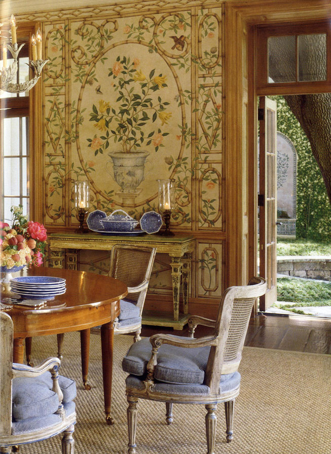 Chinoiserie-trellis-and-botanicals-David-Easton-dining-room-in-Dallas-wallpaper-wp4604723-2