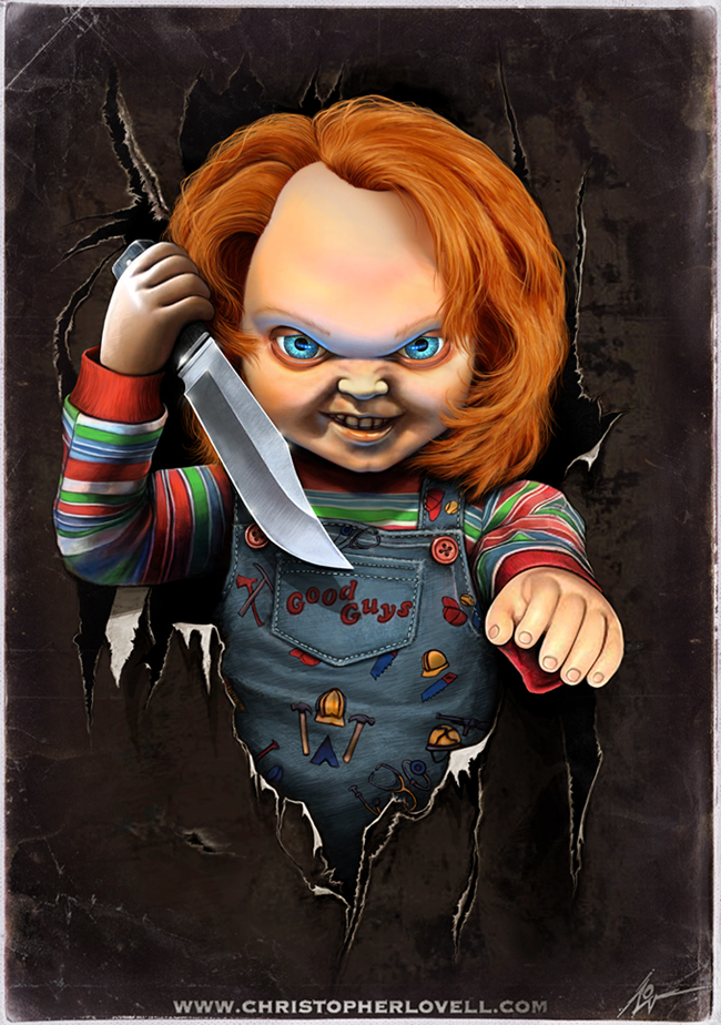 Childs play chucky wallpaper page 2 of 3 downloadwallpaper chucky by lovell art on deviantart wallpaper wp5006079 voltagebd Choice Image