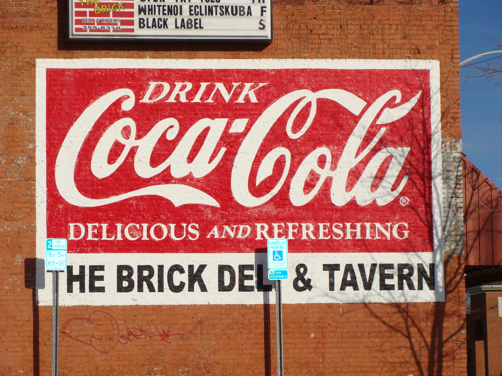 Coca-Cola-wall-The-Brick-Deli-Tavern-wallpaper-wp5603956