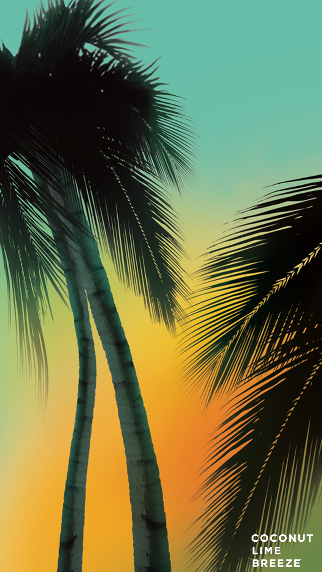 Coconut-Lime-Breeze-Phone-wallpaper-wp424596-1