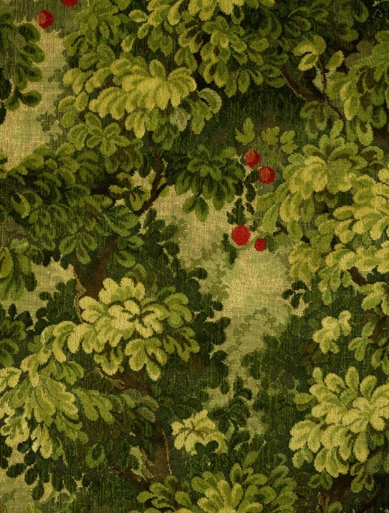 Colony-MARLY-cut-linen-velvet-forest-greens-NEW-IN-VINYL-wallpaper-wp3004488