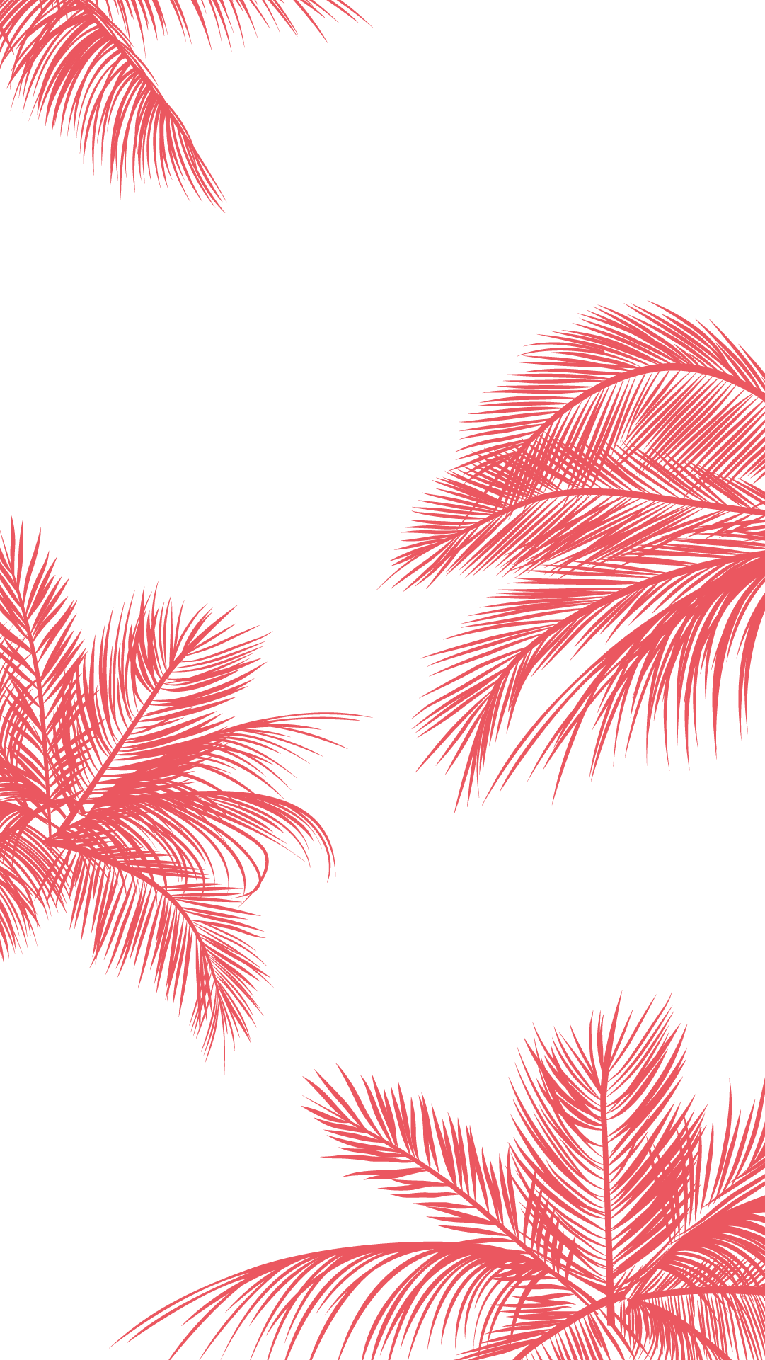 Coral-pink-white-palm-trees-leaves-iphone-phone-wallpaper-background-lockscreen-wallpaper-wp4805528