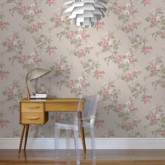 Cottage-Garden-Taupe-wallpaper-wp5006302
