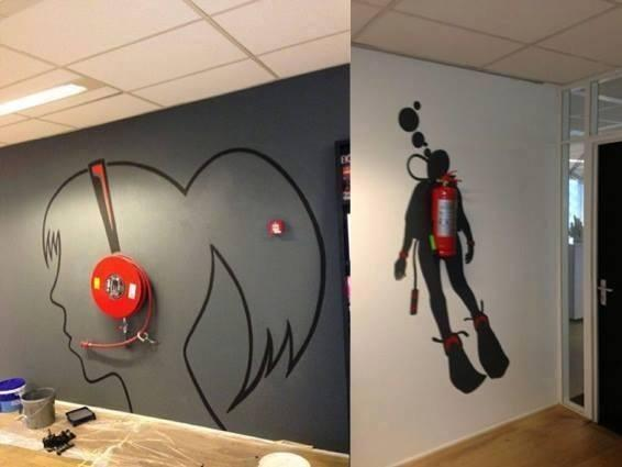 Creative-wall-painting-using-fire-extinguisher-wallpaper-wp5006337