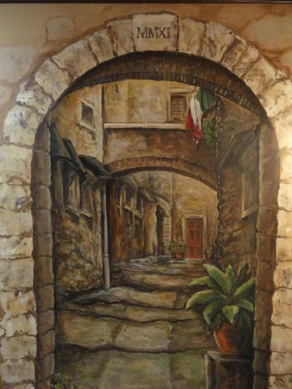 Custom-Mural-Cortona-Italy-Art-Italian-Mural-by-MariasIdeasArt-wallpaper-wp424758-1