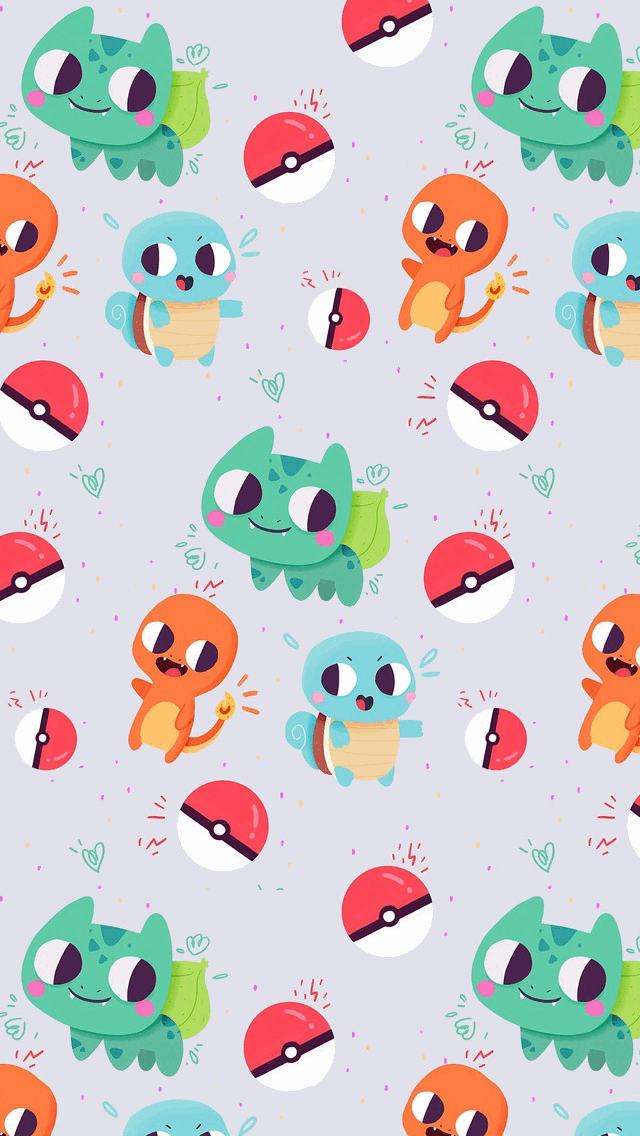 Cute-Bulbasaur-Charmander-and-Squirtle-Pokemon-Tap-to-see-more-of-the-best%E2%80%A6-wallpaper-wp4406123
