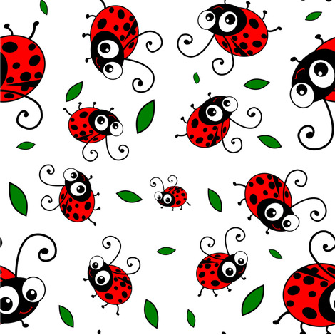 Cute-Ladybug-Pattern-fabric-by-inspirationz-on-Spoonflower-custom-fabric-wallpaper-wp3004706