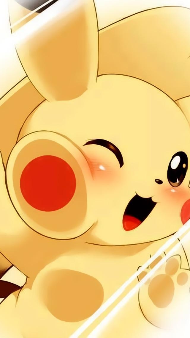 Cute-Pikachu-iPhone-mobile-chibi-kawaii-pokemon-wallpaper-wp5006440